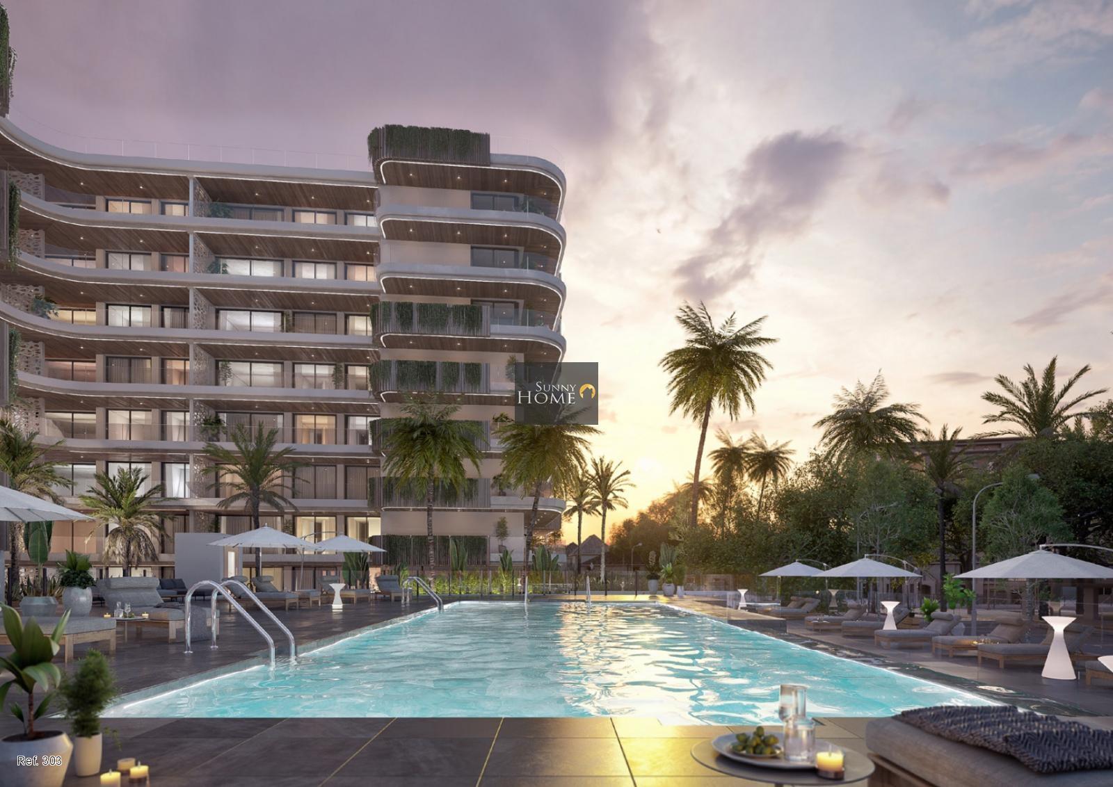 Apartamentos de lujo en venta en  Fuengirola. Jade Tower